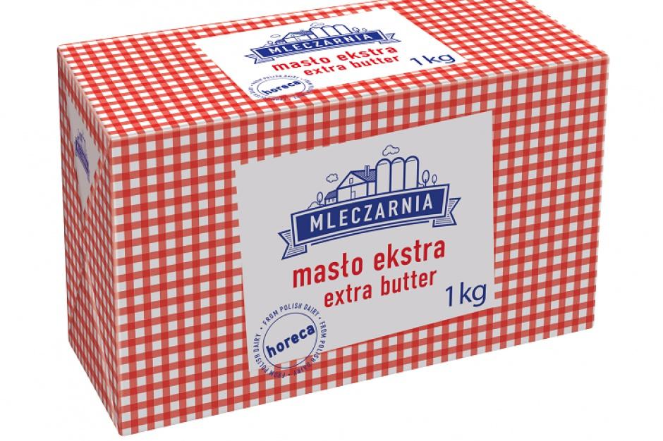 Masło extra z Mleczarni Mlekpolu dla sektora Horeca