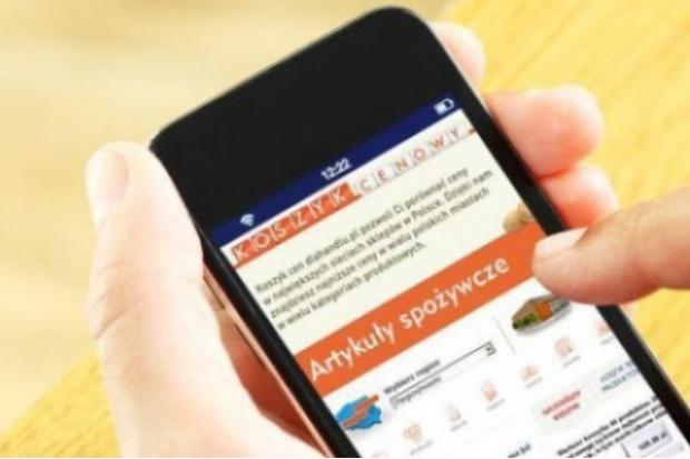 Koszyk cen: Podwyżki w e-sklepach; Zmiana lidera cenowego