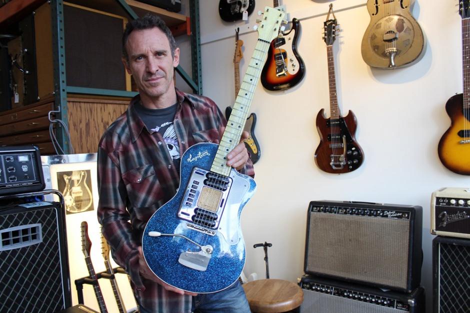 Gitara Kurta Cobaina na licytacji w serwisie eBay (galeria)