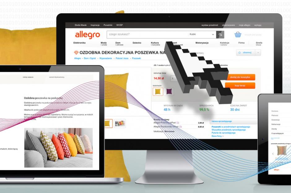 Allegro zmienia wygląd ofert
