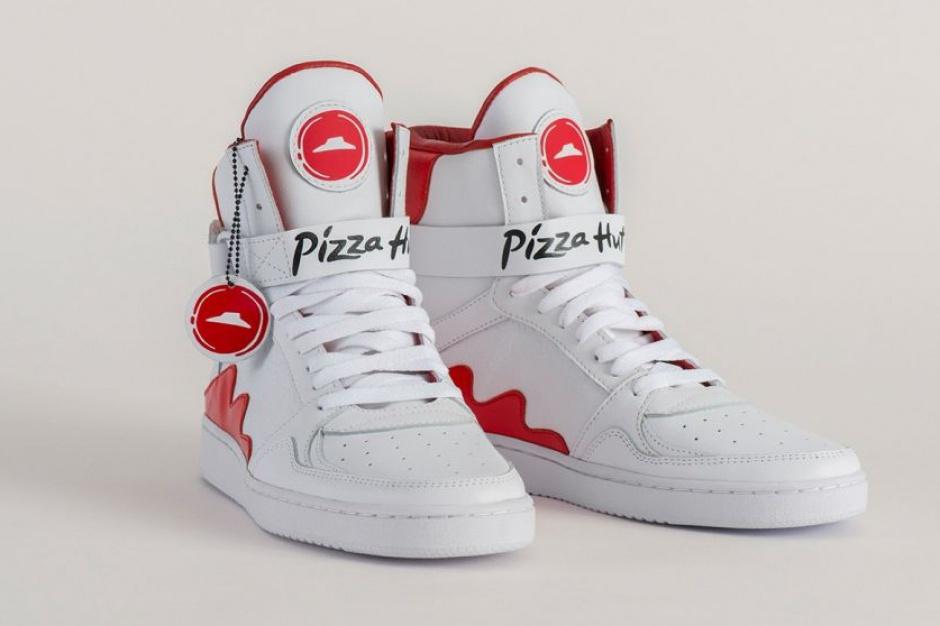 Przycisk na sneakersach zamówi pizzę z Pizza Hut