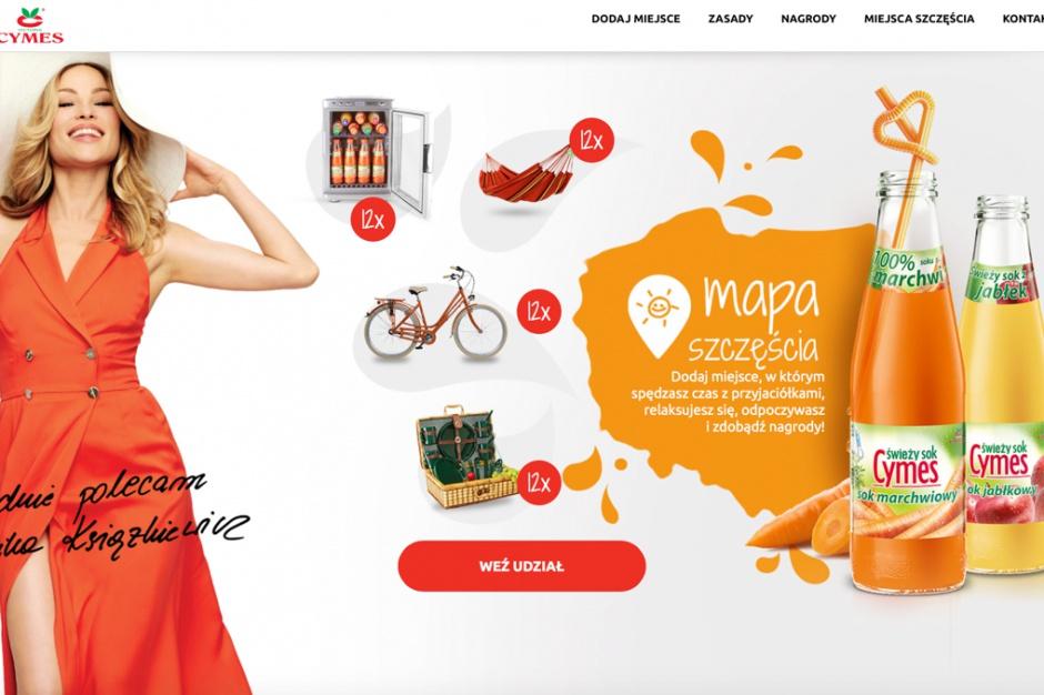 Soki Cymes z konkursem dla konsumentów
