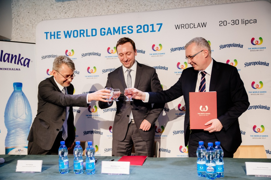 Staropolanka sponsorem technicznym The World Games Wrocław 2017