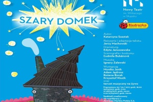 """Szary Domek"" z Biedronki na deskach teatru"