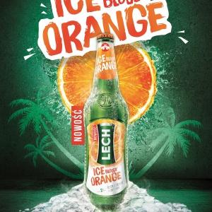 Lech Ice Bloody Orange - orzeźwiająca nowość od Kompanii Piwowarskiej