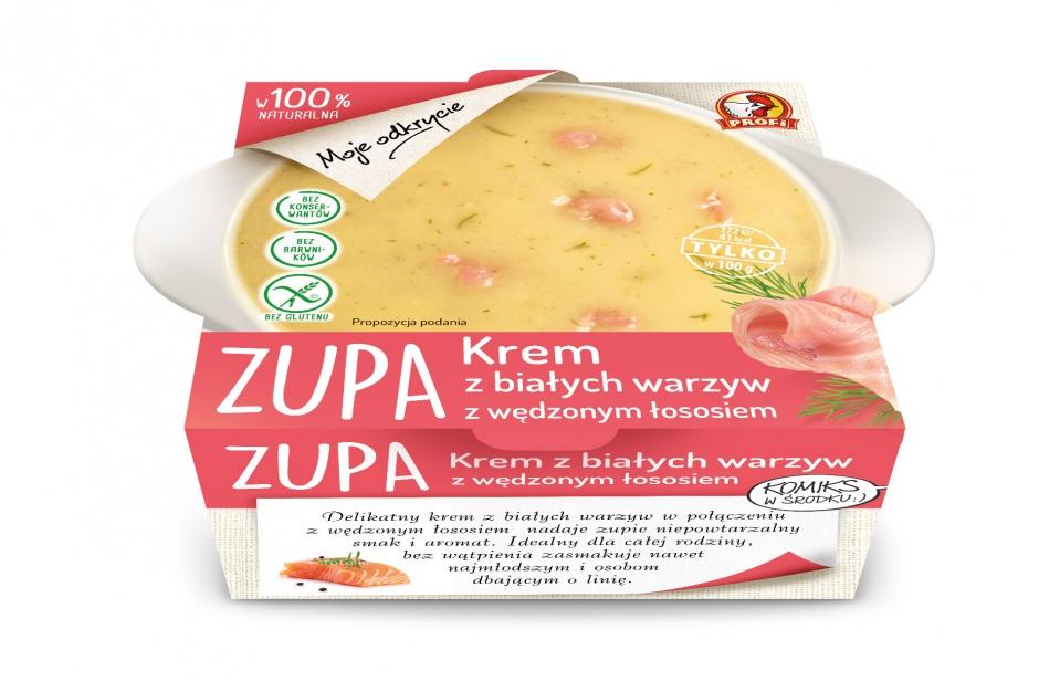 Kolejne nowości wiosenne Profi - dwa nowe smaki zup chłodzonych Moje Odkrycie
