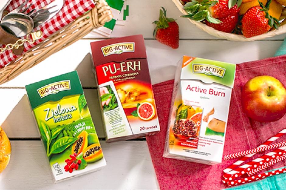 Nowe odsłony i smaki zielonych herbat Big-Active