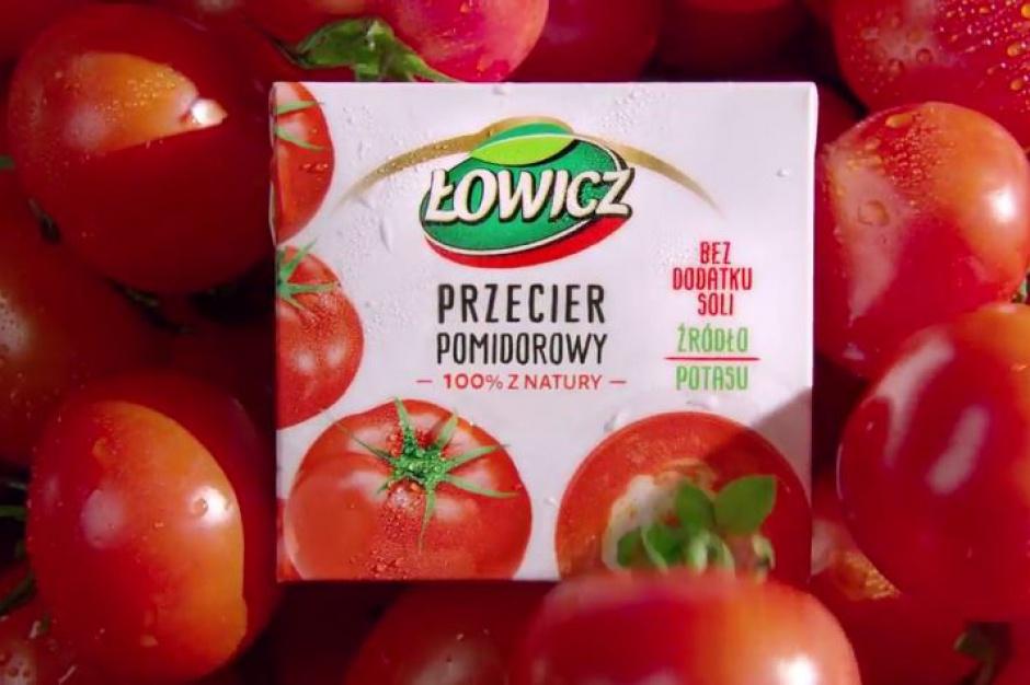 Łowicz z nową kampanią przecierów pomidorowych