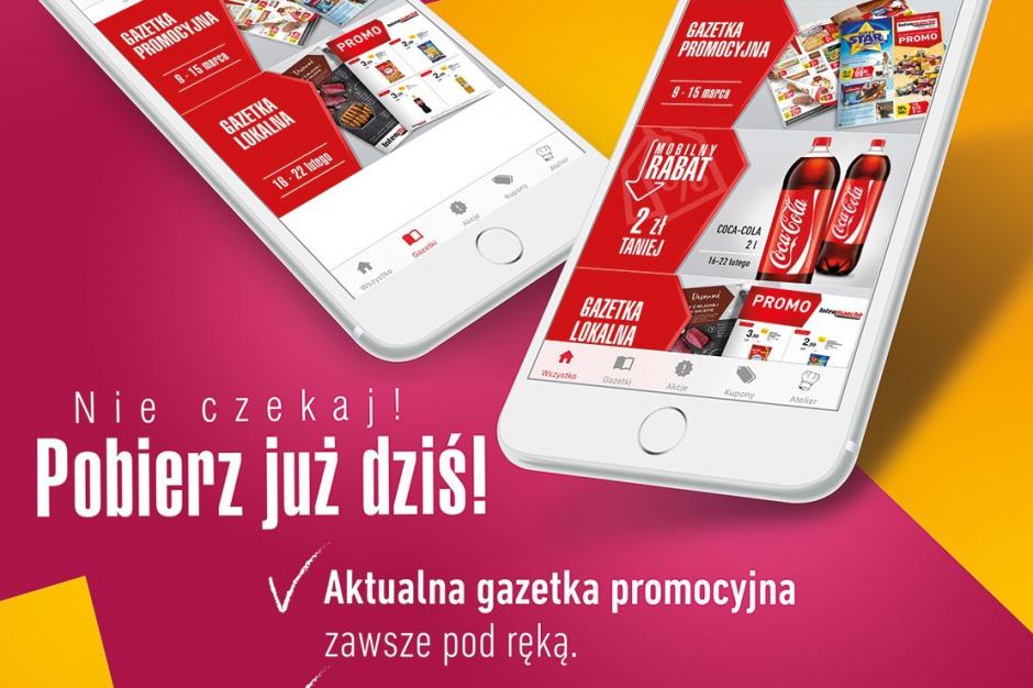Intermarche uruchamia aplikację mobilną z gazetkami i kuponami rabatowymi