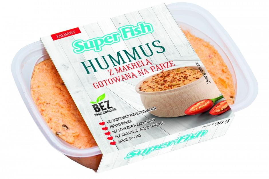 Nowość od SuperFish: Hummus z białej fasoli