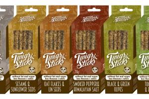 Twigs&Sticks - paluszki wypiekane bez użycia tłuszczu i cukru