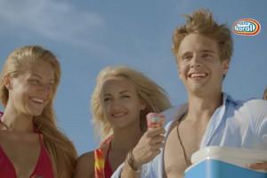 Start kampanii lodów Koral z Maciejem Musiałem