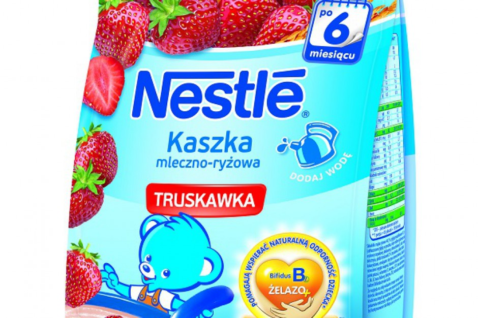 Nowa receptura kaszek Nestle