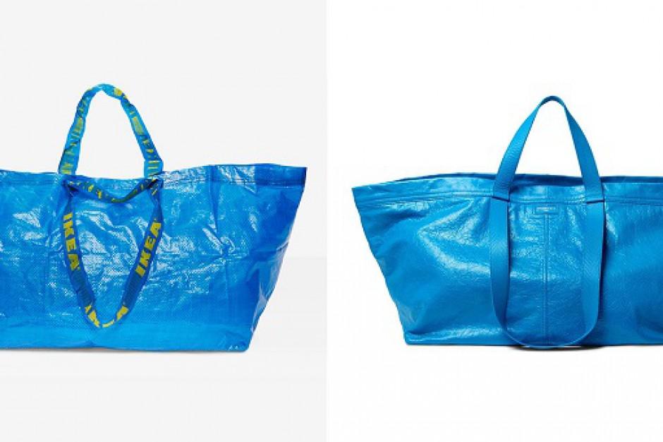 IKEA vs. Balenciaga, czyli jak odróżnić podróbkę od oryginału