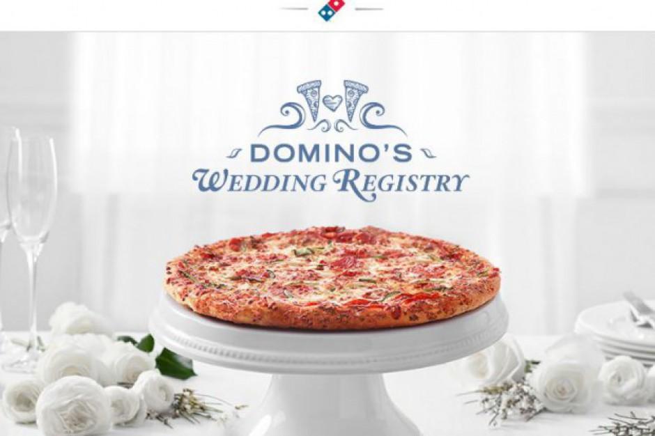 Domino's z nową usługą. Voucher do pizzerii jako prezent ślubny