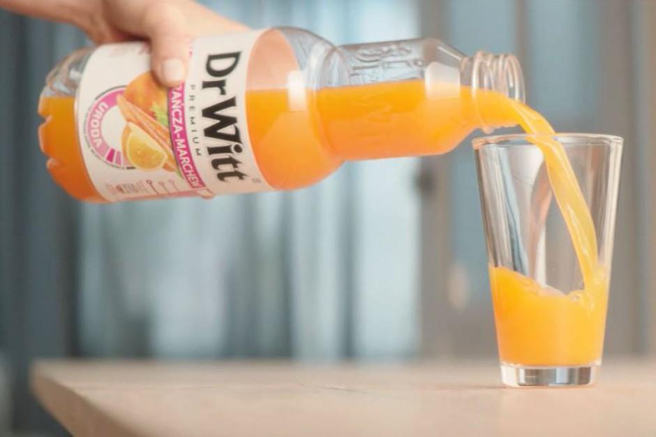 Dobroczynne działanie soków DrWitt w nowej kampanii marki