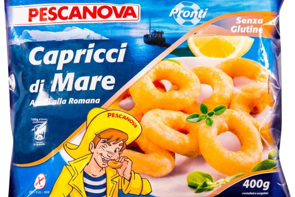 Panierowane kalmary bez glutenu od firmy Pescanova
