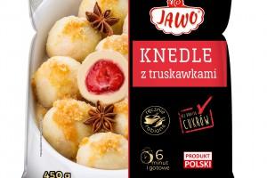 Ręcznie robione knedle z truskawkami Jawo
