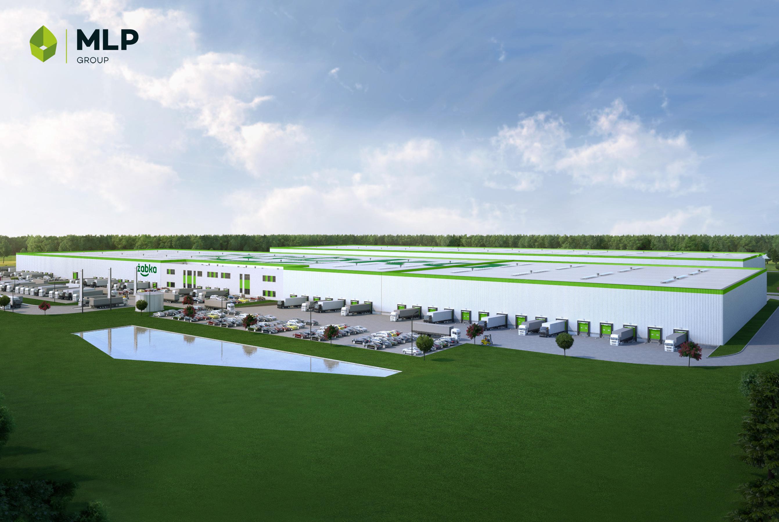 MLP Group wybuduje dla Żabki centrum logistyczne o powierzchni 24,7 tys. mkw.