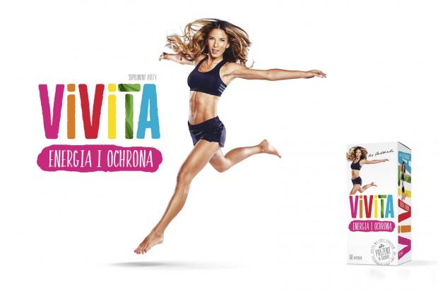 Suplement Vivita w opakowaniu zaprojektowanym przez studio IKAR