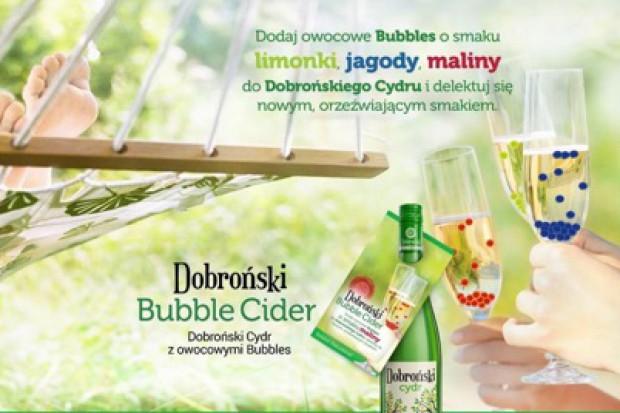 Dobroński Bubble Cider – innowacyjny pomysł na cydr spółki Jantoń