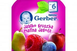 Nowe deserki owocowe Gerber