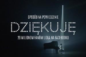 Piosenka w 20 językach dla 20 milionów fanów Lidla