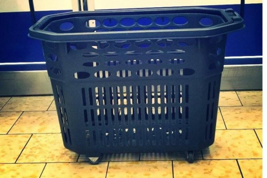 Wózki zakupowe w Lidlu: 40, 90 i 248 l oraz nowe z miejscem na nosidełko