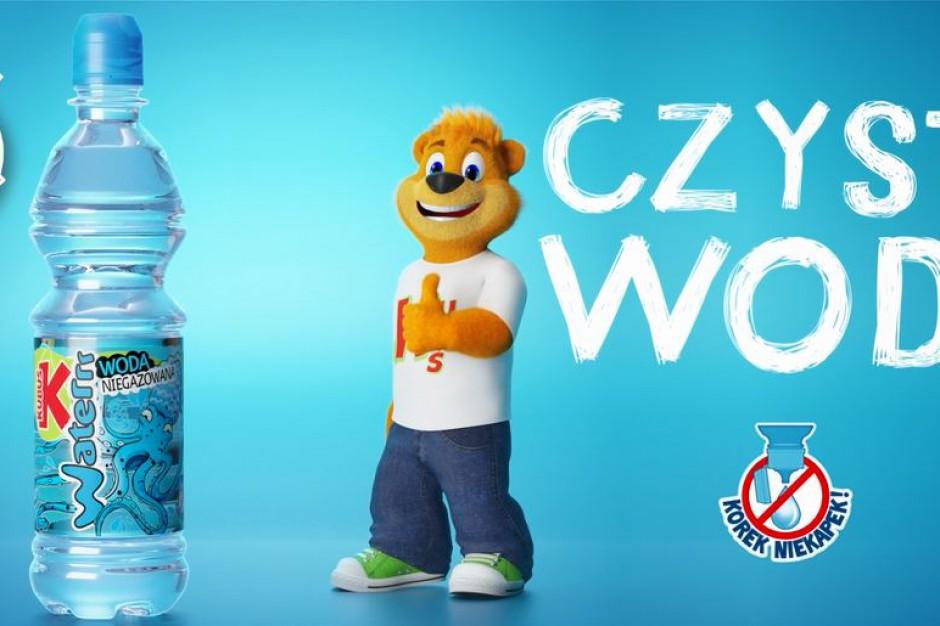 Woda Kubuś Waterrr w nowej kampanii telewizyjnej