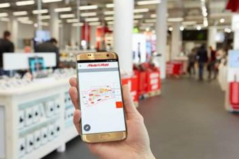MediaMarkt z aplikacją pozycjonującą od Philips Lighting