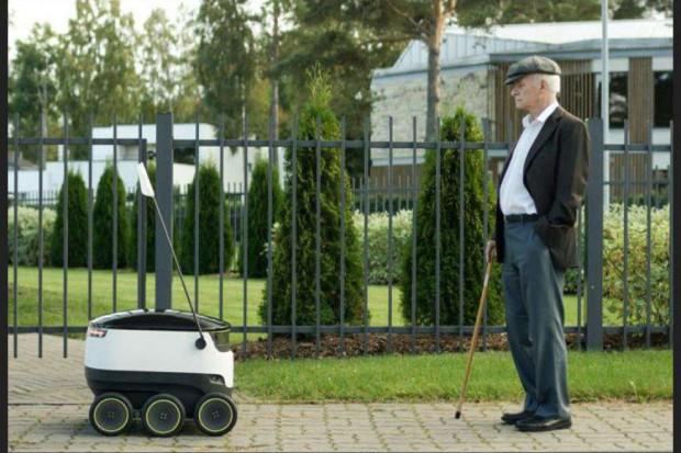 Tesco testuje roboty-dostawców
