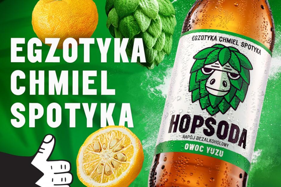 Hopsoda – bezalkoholowy napój, łączący egzotyczne owoce z chmielem