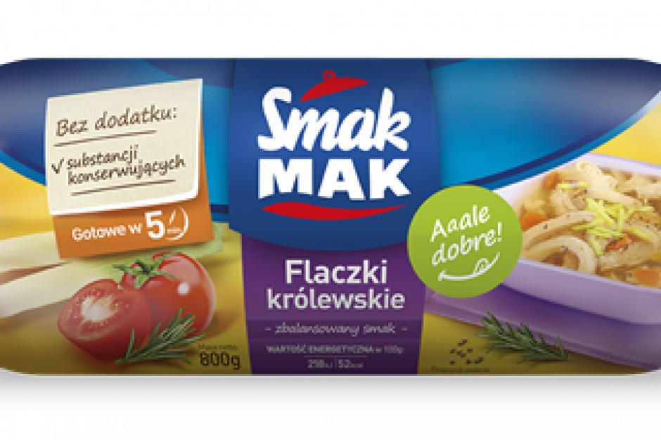 Flaczki Królewskie firmy SmakMAK