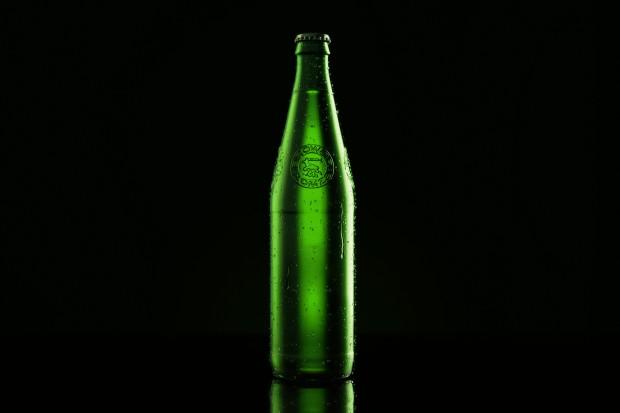 Piwo Łomża w nowej butelce