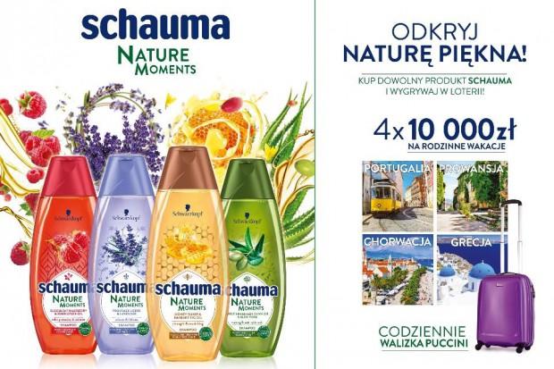 Kampania nowej linii kosmetyków Schauma
