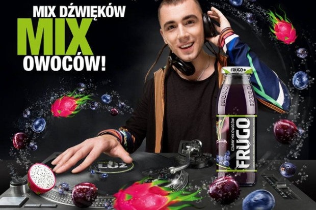 Kamil Bednarek w reklamie Frugo