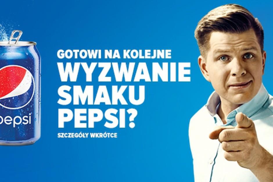 """Filip Chajzer ambasadorem akcji """"Wyzwanie smaku Pepsi"""""""