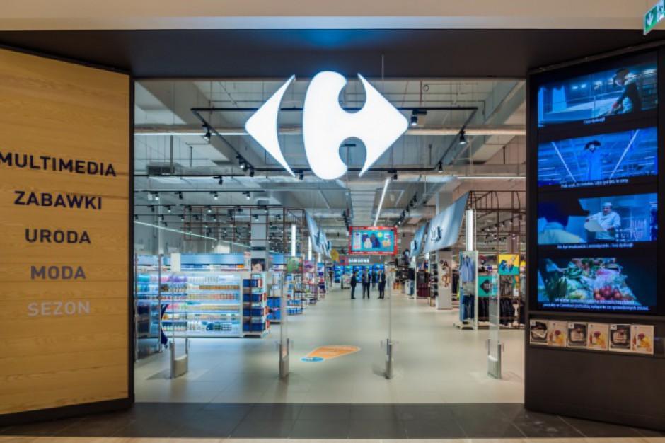 """Dwa hipermarkety Carrefour przetestowały program """"SąSiatki"""""""