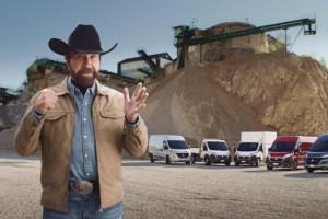 Chuck Norris w reklamie Fiata