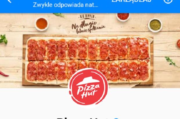Chatbot pomoże klientom Pizza Hut w Polsce