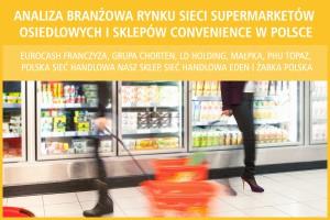 Analiza rynku sieci supermarketów osiedlowych i convenience