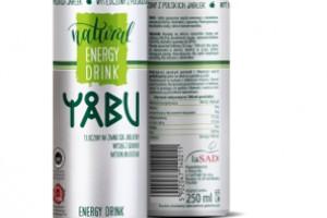 YABU Natural Energy Drink - zdrowy energetyk o jabłkowym smaku