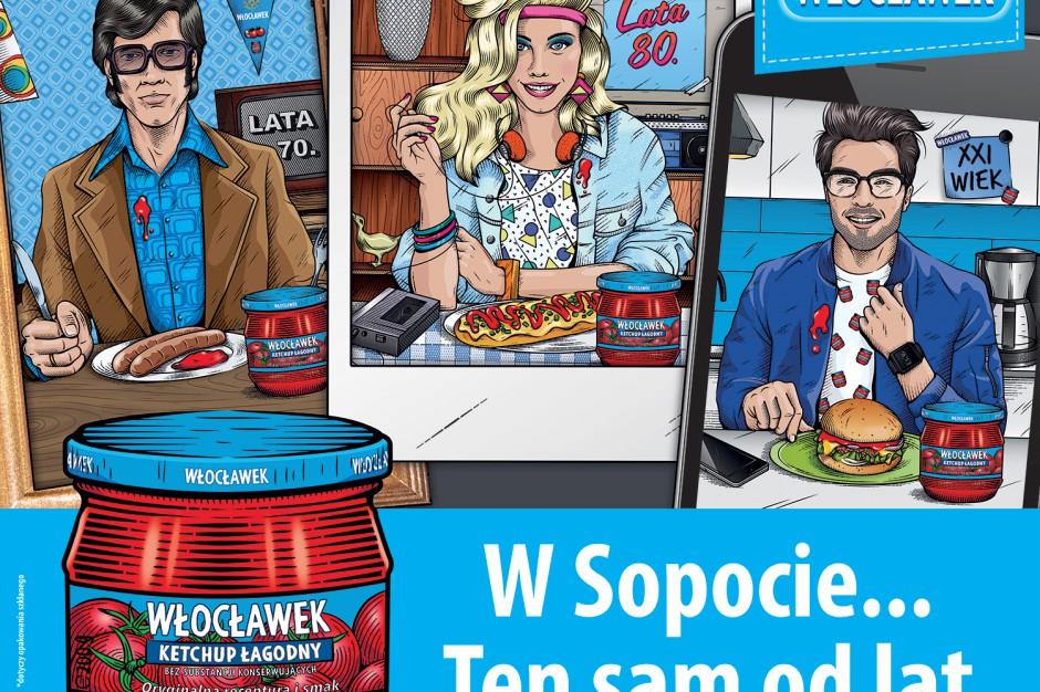 Ketchup Włocławek - kampania outdoorowa i obecność na letnich eventach