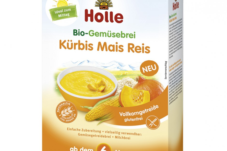 Nowa organiczna kaszka warzywna z dynią BIO marki Holle