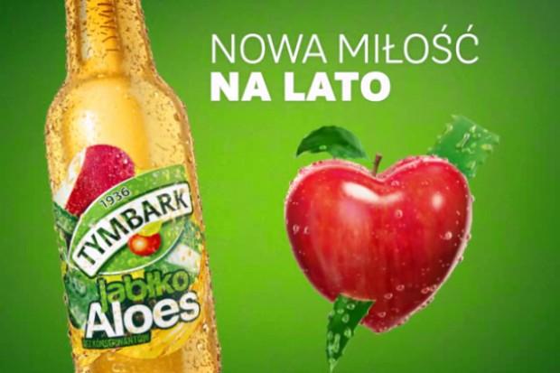 Tymbark reklamuje nowy napój w bankomatach
