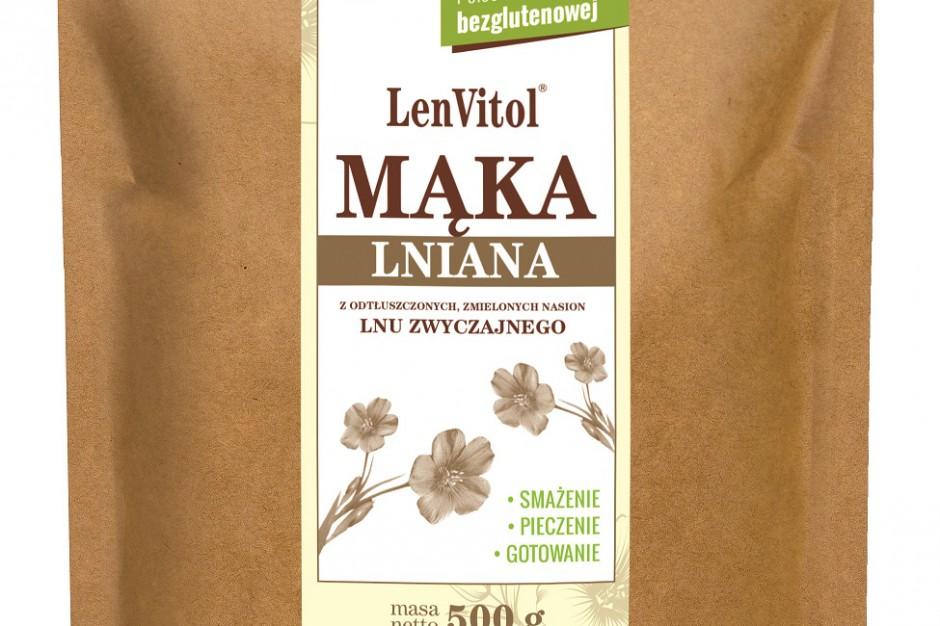 Mąka lniana wzbogaciła portfolio produktów marki LenVitol