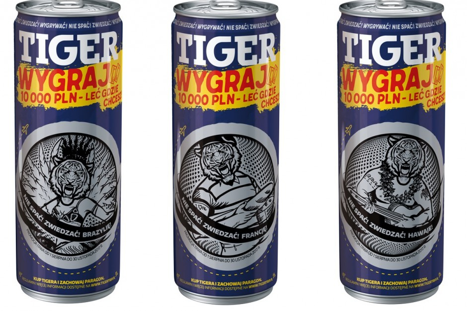Rusza loteria TIGER Energy Drink