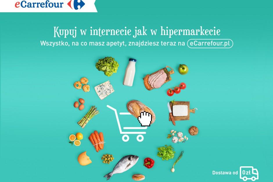 Produkty świeże wchodzą do oferty e-sklepu sieci Carrefour