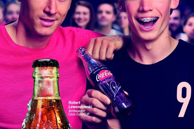 Robert Lewandowski w kampanii marki Coca-Cola Zero Cukru