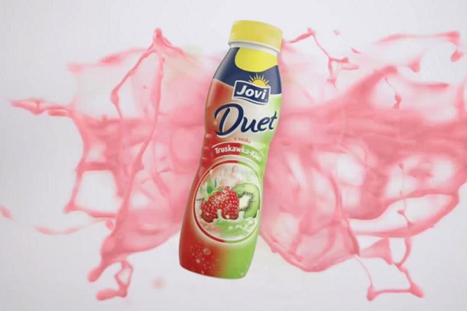 Lactalis promuje napoje jogurtowe Jovi Duet